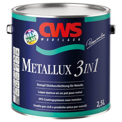 CWS WERTLACK® Metallux 3in1